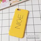 For iPhone 7 7Plus 6 6S Plus 5S SE Korean Style Nice Smile Face Polish Hard Case