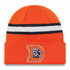 New Era NFL Beanie Broncos Orange Color Rush On Field Cuffed Knit Hat