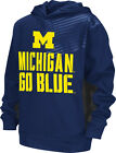 Michigan Wolverines Youth Sonic Pullover Hooded Sweatshirt - Navy
