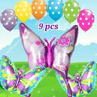 """39""""HUGE BUTTERFLY Bugs Insect Foil Balloons Decor Shower Birthday Party Supply B"""