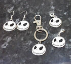 Jack Skellington Nightmare Before Christmas European Clip Charm Keyring Earrings