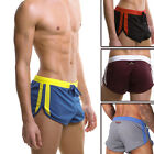 UK HOT FiteX Air Mens Light Sports Cool Boxer Briefs Striped Underwear Size S-XL