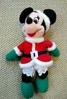 MRS CLAUS MINNIE Mouse Plush BEAN BAG NWOT