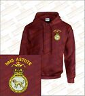 HMS ASTUTE Crested Hooded Sweatshirts