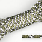 550 Paracord Parachute Cord Lanyard 7 Strand Core 20ft 50ft 100ft