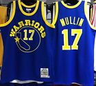 CHRIS MULLIN WARRIORS MITCHELL & NESS 100% AUTHENTIC JERSEY ROOKIE 1985-86 NEW