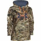 Under Armour RealTree Max-5 Big Logo Hoodie Size XS 1265757