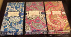 Vera Bradley-NOTE CARD FOLIO-Beautiful Cards Envelopes & Stickers HTF