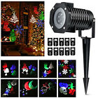In/Outdoor Xmas Moving LED Laser Projector Landscape Christmas Light 10 Patterns