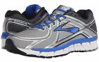 Mens Brooks Adrenaline GTS 16  Running Shoes Silver Electric Brooks Blue Wide 4E