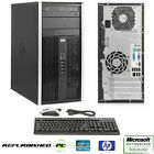 CLEARANCE Fast HP Desktop Tower Computer PC Core 2 Duo WINDOWS 10 Home Pro