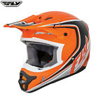 Fly Racing 2017 Adults Full Speed MX Motocross Enduro Off Road Helmet Orange