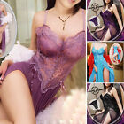 Women's Lingerie Set Dress Nightwear Underwear Sleepwear G-string Babydoll HOT !