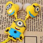 Minions Despicable me 2 in-ear Earphone colorful & Avengers & Cartoon Characters