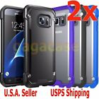 2PCs Hybrid Rubber Shockproof Protective Cover Case For Samsung Galaxy S6 Edge