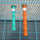 Colorful Pet Bird Chew Toys Paw Grinding Stand Perches Cage Parrot Budgie New