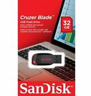 SanDisk Cruzer Blade 8GB 16GB 32GB 64GB 128GB USB Flash Drive Memory Stick Lot