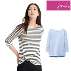 Joules Ladies Harbour Luxe Jersey Top (W) **FREE UK Shipping**
