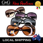 G&G Fashion Ladies Oval Square Shape Sunglasses oversized Plorized available