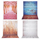 5x7Ft Photography Backdrop Photo Background Flower Road Wooden Wall Studio Opt