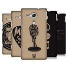 HEAD CASE DESIGNS POWER OF MUSIC BACK CASE FOR SONY XPERIA SP / C5302 / C5303