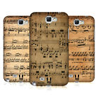 HEAD CASE DESIGNS MUSIC SHEETS HARD BACK CASE FOR SAMSUNG GALAXY NOTE 2 II