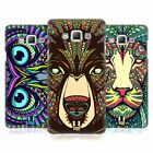 HEAD CASE DESIGNS AZTEC ANIMAL FACES HARD BACK CASE FOR SAMSUNG GALAXY A7