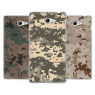 HEAD CASE DESIGNS MILITARY CAMOUFLAGE SERIES 2 SOFT GEL CASE FOR SONY XPERIA M2