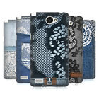 HEAD CASE DESIGNS JEANS AND LACES HARD BACK CASE FOR LG BELLO PRIME MAX II