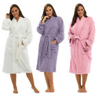 Tom Franks Women's 100% Cotton Towelling Bath Robe