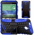 G-Shield® Shockproof Heavy Duty Hard Armour Stand Case Cover For HTC Desire 510