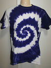 MENS TIE DYE DYED T SHIRT HIPPY RAVE DOOF PSY SIZES: S M L XL XXL 3XL 4XL 5XL