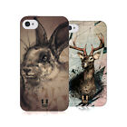 HEAD CASE DESIGNS POLYSKETCH SOFT GEL CASE FOR APPLE iPHONE 4 4S
