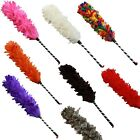 Funky Retro Feather Duster Featherduster Kitsch Maid in a CHOICE OF COLOURS
