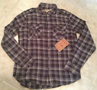 True Religion Shirt LIGHT WEIGHT MILITARY Brown Men's NEW