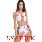 Women Push-up Padded Bandage Bikini Set Swimsuit Triangle Swimwear Bathing