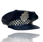 POLICE FANCY DRESS COSTUME OUTFIT COP AMERICAN SPECIAL HAT CAP BADGE TRUNCHEON