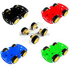 4WD Smart Car Chassis 4 wheel Kits Drive Strong Magnetic Motor Encoder F Arduino