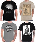 Bob Dylan T Shirt Blowing in the Wind Logo Hicks Cage Official Mens New