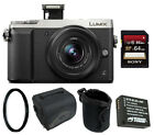 Panasonic LUMIX GX85 4K Mirrorless Digtial Camera w/ 12-32mm Lens & 64GB Bundle