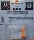 Motorola HEP Linear Integrated Circuit ~ Various Types Available