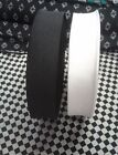 5 METRES TOP QUALITY WAISTBAND ELASTIC 3.5cm WIDE WHITE OR BLACK FLAT STRETCH