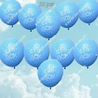 It's A Boy Baby Shower Latex Balloons Foil Christening Decor Party Supplies lot