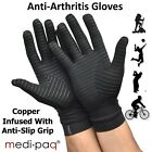 Anti ARTHRITIS COPPER Compression Therapy Gloves Hand Pain Grip