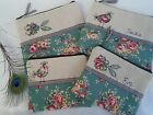 Handmade Cosmetic Bag choice of Flower or Hen, size & option to personalise gift