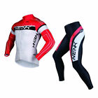 SOBIKE NENK Cycling Suits Long Jersey Long Sleeve & Tights Pants-COOREE Red