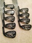 Taylormade Burner 2.0 Irons 4-PW,AW,SW (9 Pc) S Flex + FREE Cleveland Lob Wedge