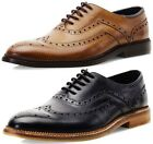 Goodwin Smith Barley Oxford Mens Lace Up Brogue Shoes ALL SIZES AND COLOURS