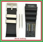 SALE - 24MM DIVERS WATCH STRAP, ND TIME, N D LIMITS, POLYURETHANE TPU, 3 COLOURS