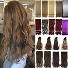 """New Arrive Full Head Clip in Hair Extensions 24/26"""" Natural Synthetic Hair Tb9"""